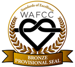 WAFCC Bronze Provisional Seal